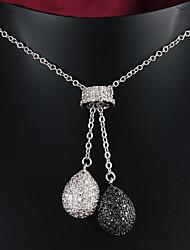 fiesta de la venta caliente / chapado en oro ocasional colgante de joyería de la boda collar de hombres y mujeres