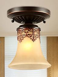 baratos -Ecolight™ Montagem do Fluxo Luz Descendente - Estilo Mini, 110-120V / 220-240V Lâmpada Não Incluída / 5-10㎡ / E26 / E27