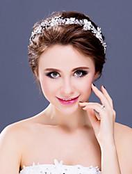 Dame/Blomsterpige Rhinsten/Legering Medaljon Bryllup/Speciel Lejlighed/Afslappet Diademer/Pandebånd Bryllup/Speciel Lejlighed/Afslappet1