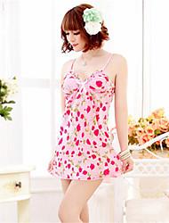cheap -SKLV Women's Cotton Blend Lingerie/Ultra Sexy/Suits Nightwear/Lingerie