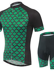 Biciklistička majica s kratkim hlačama Muškarci Kratki rukav Bicikl Bib Shorts Rukavi Biciklistička majica Kratke hlače Kompleti odjeće