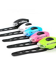 Bike Lights / Rear Bike Light / Safety Lights / Bike Glow Lights LED - Cycling Warning / Easy Carrying CR2032 50-70 Lumens Battery