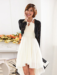 cheap -Long Sleeves Polyester Lace Wedding Party Evening Casual Wedding  Wraps With Lace Shrugs