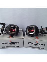 FALCON LP-200L 6.3:1 10+1RB  Ball Bearings Bait Casting Baitcast Reels Left-handed