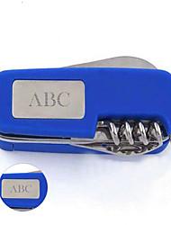 personlig gave multifunktionelle schweizerkniv rustfrit stål nøglering