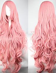 abordables -2015 la venta caliente pelucas largo del Anime de Cosplay pelucas sintéticas pelucas de cabello partido cosplay largas 100cm