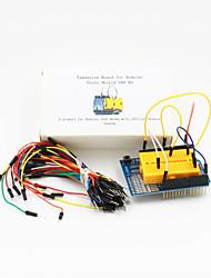 Proto Shield UNO R3 Expansion Board+Breadboard Jumper(65-Cable Pack)