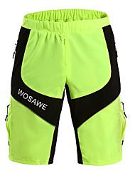 abordables -CoolChange Hombres Verano Ciclismo Shorts Pantalones Cortos Transpirable/Materiales Ligeros Verde Deportes recreativos/Ciclismo