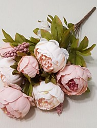 cheap -European Large Peony Flower Artificial Flowers Home Decoration