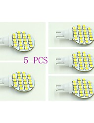 cheap -T10 LED Panel Lights 24 SMD 3528 100-120 lm Natural White 5500-6000 K DC 12 V