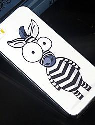 billiga -fodral Till iPhone 5 / Apple iPhone 5-fodral Mönster Skal Tecknat Hårt PC för iPhone SE / 5s / iPhone 5
