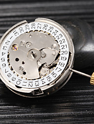 Silver Automatic Mechanical Watch Movement wish Calendar Fashion Watch Cool Watches Unique Watches