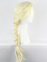 cheap -Cosplay Wigs Hair Weaving Queen Elsa and Anna princess Anime Cosplay Wigs