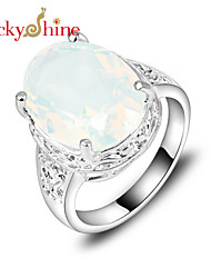 Ring Fashion Party Jewelry Silver Women / Men Statement Rings 1pc,7 / 8 / 9 Silver