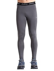 Clothin Men's Running Tights Gym Leggings Wearable Breathable Compression Lightweight Materials Stretch Tights Bottoms for Yoga Camping /