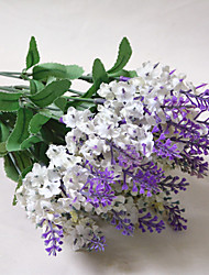 cheap -High Quality Artificial Flower Bright Color Lavender Silk Flower for Wedding and Decorative