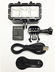 Spot Light LED Mount / Holder LED For All Gopro Gopro 5 Gopro 4 Silver Gopro 4 Gopro 4 Black Gopro 4 Session Gopro 3 Gopro 2 Gopro 3+