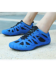 cheap -Road Bike Shoes Anti-Slip, Ventilation, Ultra Light (UL) Cycling Blue Men's