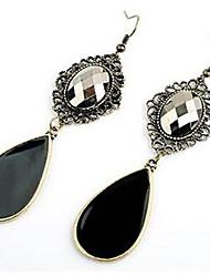 cheap -Women's Drop Earrings Bohemian Synthetic Gemstones Cubic Zirconia Alloy Drop Jewelry For