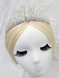cheap -Crystal Alloy Tiaras 1 Wedding Special Occasion Headpiece