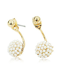 cheap -Women's Crystal Drop Earrings - Rhinestone, Gold Plated, Austria Crystal Gold