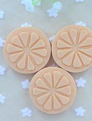 NEW 2015 Slice Of Lemon Fruit Soap Mold Fondant Cake Chocolate Silicone Mold, Decoration Tools Bakeware