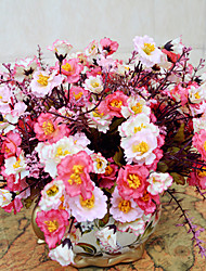 cheap -High Quality Artificial Flower Bright Color Peony Silk Flower for Wedding and Decorative