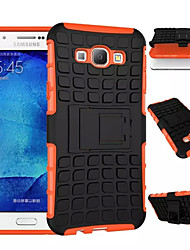 cheap -TPU+PC Heavy Duty Armor Stand Case Protective Skin Double Color Shock Prooffor For Samsung Galaxy A8/A7/A5/A3 2015