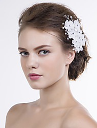 cheap -Organza Flowers 1 Wedding Special Occasion Headpiece
