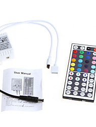 cheap -LED RGB Strip Light with 44 key IR Remote Controller RGB DC light bar with a shell