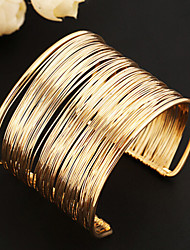 cheap -Women's Cuff Bracelet - Unique Design Vintage Cute Party Open Multi Layer Fashion European Jewelry Gold Bracelet For Party Daily