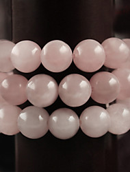 Beadia 39Cm/Str (Approx 98Pcs) Natural Rose Quartz Beads 4mm Round Pink Stone Beads DIY Accessories
