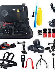 cheap -Accessory Kit For Gopro All in One For Action Camera Gopro 5 Xiaomi Camera Gopro 4 Silver Gopro 4 Gopro 4 Black Gopro 4 Session Gopro 3