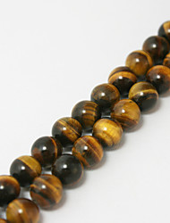 cheap -Beadia 39Cm/Str (Approx 65Pcs) 6mm Round Natural Tiger Eye Stone Beads DIY Accessories