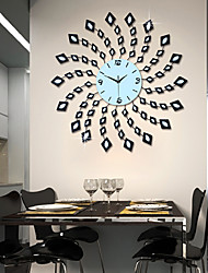 cheap -Modern Style Metal Mute Wall Clock