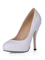 Da donna-Tacchi-Matrimonio Formale Serata e festa-Comoda Light Up Shoes-A stiletto-PU (Poliuretano)-Bianco