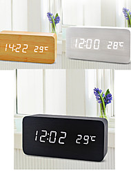 cheap -Digital Wood Alarm clock,LED