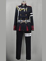 cheap -Inspired by Seraph of the End Guren Ichinose Video Game Cosplay Costumes Cosplay Suits Patchwork Black Long SleeveTop / Pants / Belt /