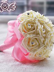 """Недорогие -Свадебные цветы Букеты Свадьба Полиэстер Satin пена 7,87""""(около 20см)"""