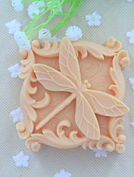 cheap -Dragonfly Animal Soap Mold  Fondant Cake Chocolate Silicone Mold, Decoration Tools Bakeware