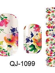 3D Nail Stickers - Muuta - Kukka/Lovely - Sormi - 14.5*7.5*0.1