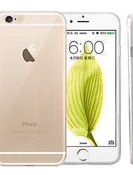 economico -Custodia Per Apple iPhone 6 iPhone 6 Plus Ultra sottile Transparente Per retro Tinta unica Morbido Silicone per iPhone 6s Plus iPhone 6s