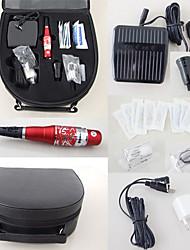 abordables -trousses de maquillage permanents mosaïques machines aiguilles Conseils cas bouchons d'encre& approvisionnement pédale pour le