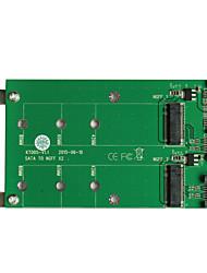 Недорогие -maiwo USB3.0 2x SATA to2x м.2 (ngff) карты Интерфейсная карта kt005a