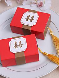 billige -12 Stykke/Sæt Favor Holder-Kasse Kort Papir Yndlingsæsker Yndlingsdåser og -spande Ikke-personaliseret