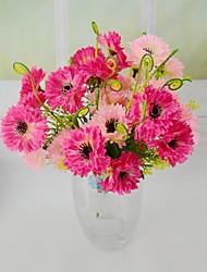 levne -Umělé květiny 1 Větev Pastýřský Styl Orchidej Květina na stůl