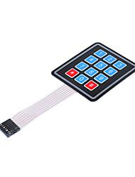 economico -Tastiera 3 * 4 pellicola