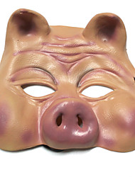 cheap -Halloween Mask Pig Horror Silicone Pieces Adults' Gift