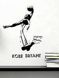 Wall Stickers væg decals stil sports berømthed kobe pvc wall stickers