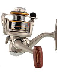 Molinetes Rotativos 5.1:1 6 Rolamentos Trocável Pesca de Mar Pesca de Água Doce Pesca de Isco-FR030 Hengjia